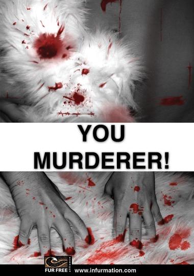 Anti-Fur Poster